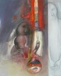 dalla-nascita-100x100-collage-tecnica-mista-su-tavola-anno-2000